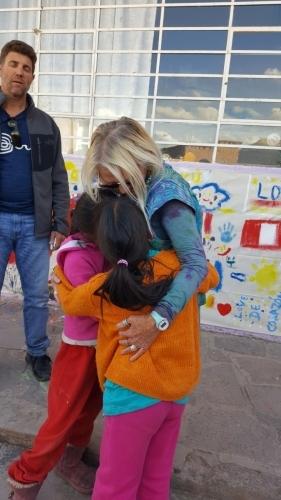 Hugs and hugs
