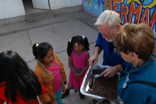 The fudge Chef Ricky made was very popular!