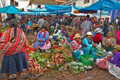 Pisac Market 1